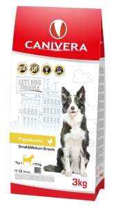 Canivera Puppy&Junior Small&Medium Breeds 3 kg