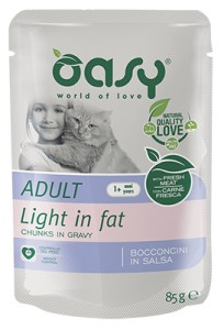 OASY kot saszetka 85g Light in Fat