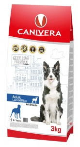 Canivera Adult Lamb&Rice All Breeds 3 kg