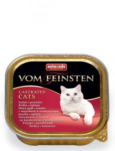 Animonda VF Castrated 100g indyk+pomidor – dla kota