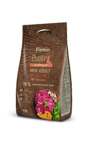 Fitmin Purity Grain Free Adult Mini Beef  0,8kg