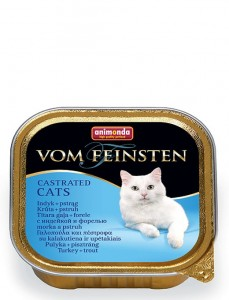 Animonda VF Castrated 100g indyk+pstrąg – dla kota