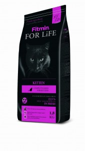 Fitmin For Life Cat Kitten 1,8 kg